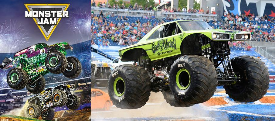 Monster Jam at Save Mart Center