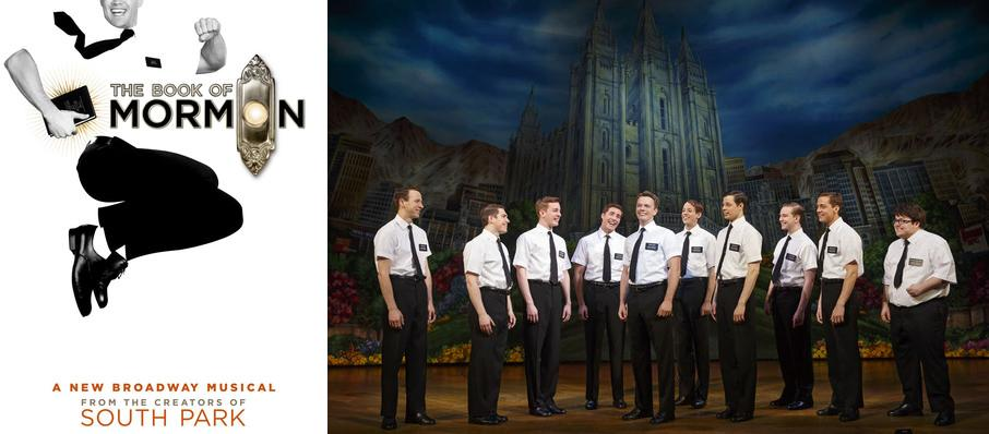 The Book of Mormon at Saroyan Theatre