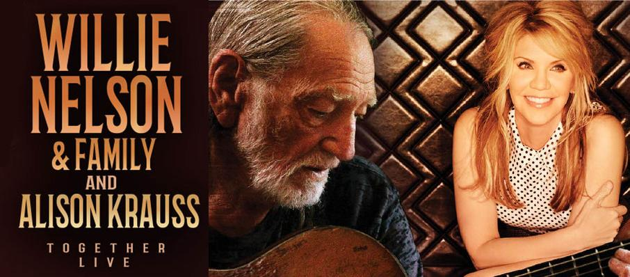 Willie Nelson & Alison Krauss at Save Mart Center