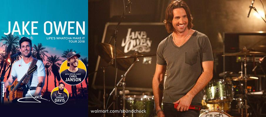 Jake Owen at Chukchansi Park