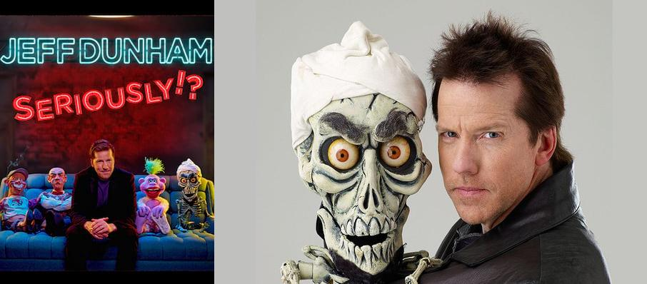 Jeff Dunham at Save Mart Center