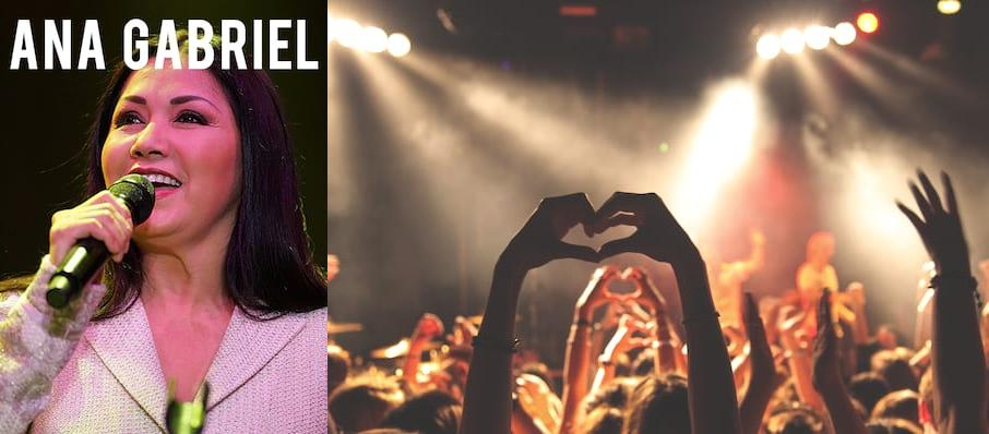 Ana Gabriel at Save Mart Center