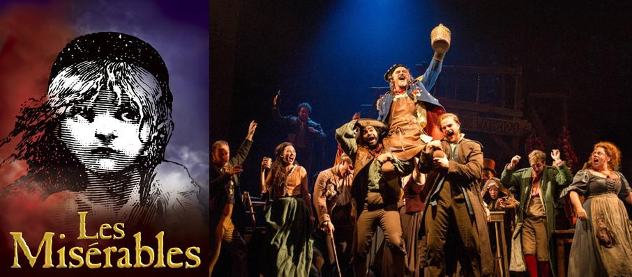 Les Miserables at Saroyan Theatre