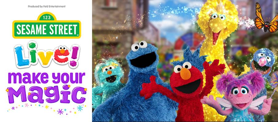 Sesame Street Live - Make Your Magic at Saroyan Theatre