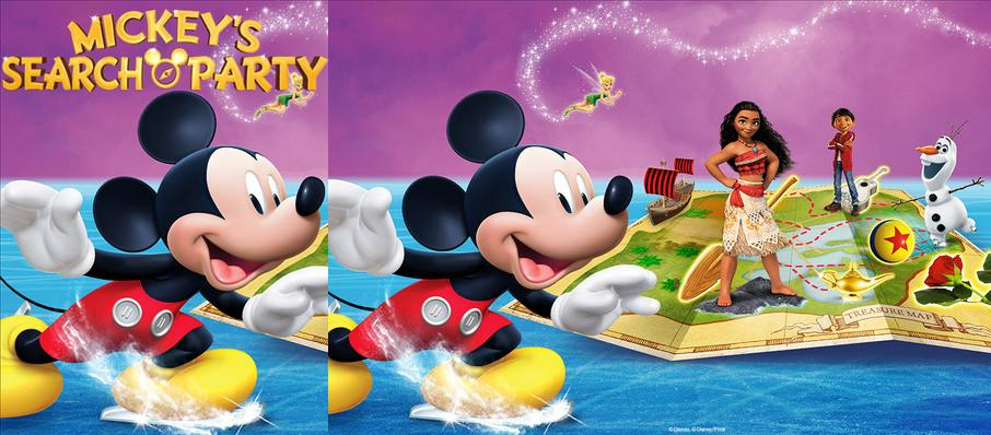 Disney on Ice: Mickey's Search Party at Selland Arena