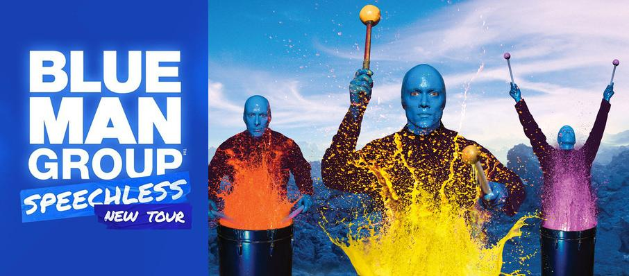 Blue Man Group at Saroyan Theatre