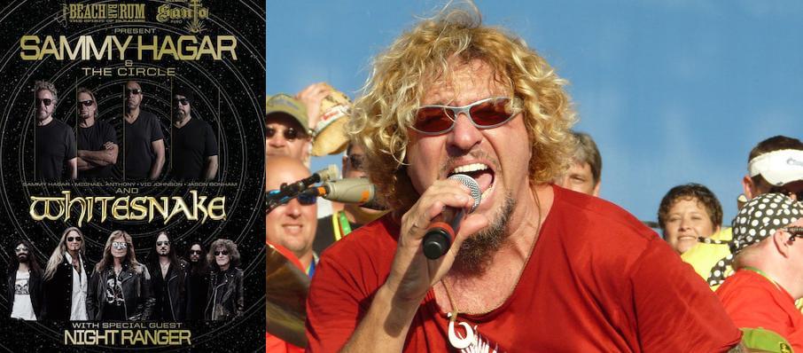 Sammy Hagar at Warnors Theater