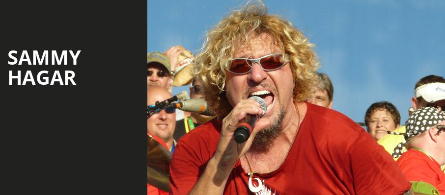 Sammy Hagar, Warnors Theater, Fresno