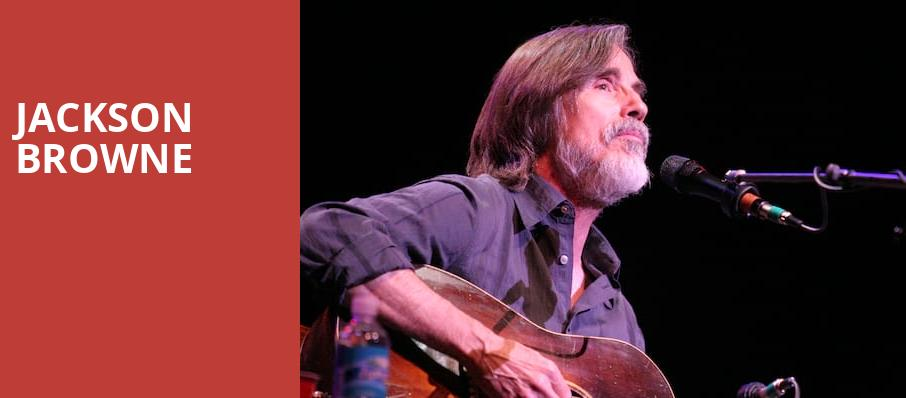 Jackson Browne, Warnors Theater, Fresno